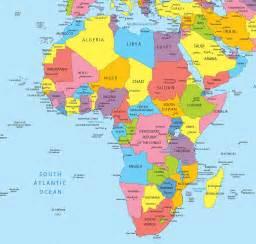 carte de l afrique cartes sur le continent africains
