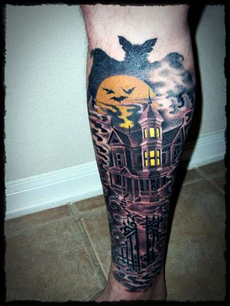 halloween sleeve tattoo designs designs