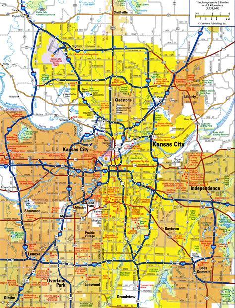 map of kansas city area kansas city