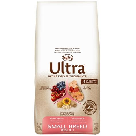 nutro ultra puppy food nutro ultra small breed food 4 lb