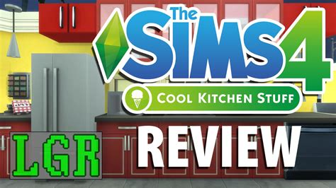 cool kitchen stuff lgr the sims 4 cool kitchen stuff review youtube
