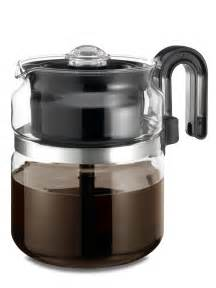 Medelco pk008 one all 8 cup glass stovetop coffee percolator with