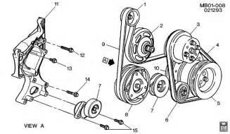1996 roadmaster fan belt tensioner pulley page 2
