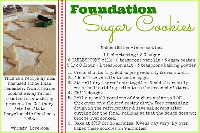 printable recipes for sugar cookies whimsy love foundation sugar cookie recipe