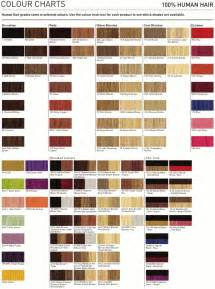 matrix so color chart colour chart on hair color charts color