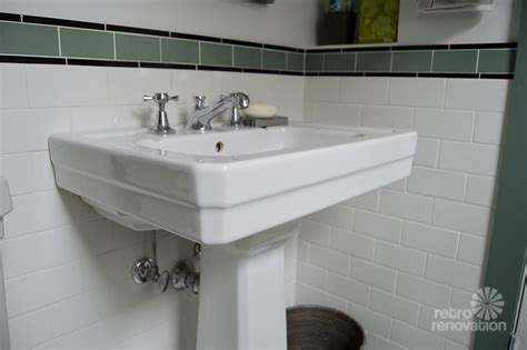 1930s bathroom amy s 1930s bathroom remodel classic and elegant retro