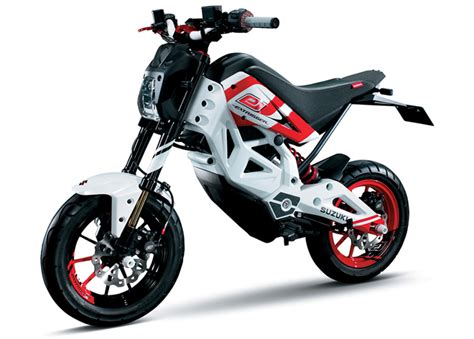 Suzuki Monkey Bike Suzuki S All Electric Monkey Bike Lets You Hoon In Silence