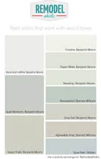 Remodelaholic Choosing Paint Colors That Work With Wood