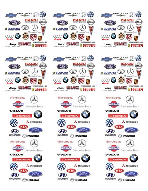 Car Types That Start With A by Car Logos And Brands Azs Cars