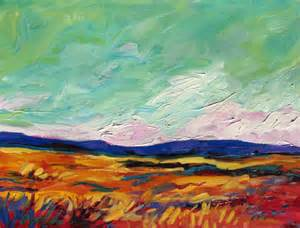 abstract landscapes by patty baker original and commissioned