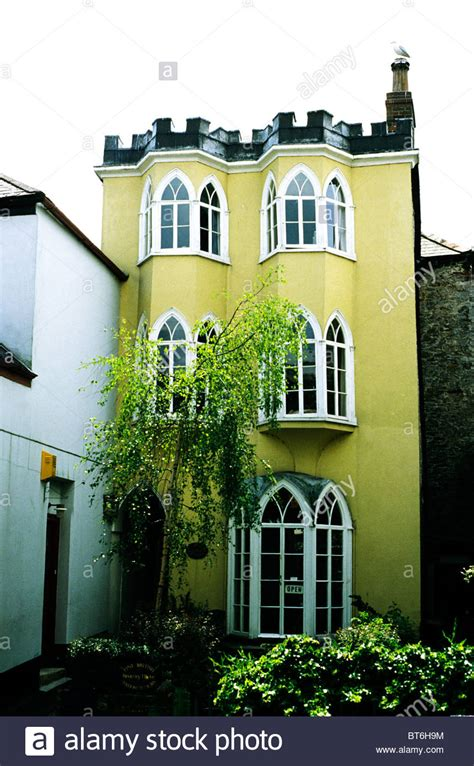 buy house in devon totnes devon gothic house in fore street dated 1800 england uk stock photo royalty