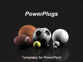 free sports powerpoint templates best powerpoint template sports balls a grey
