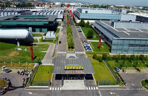 maranello italy ferrari factory tour mechanical workshop