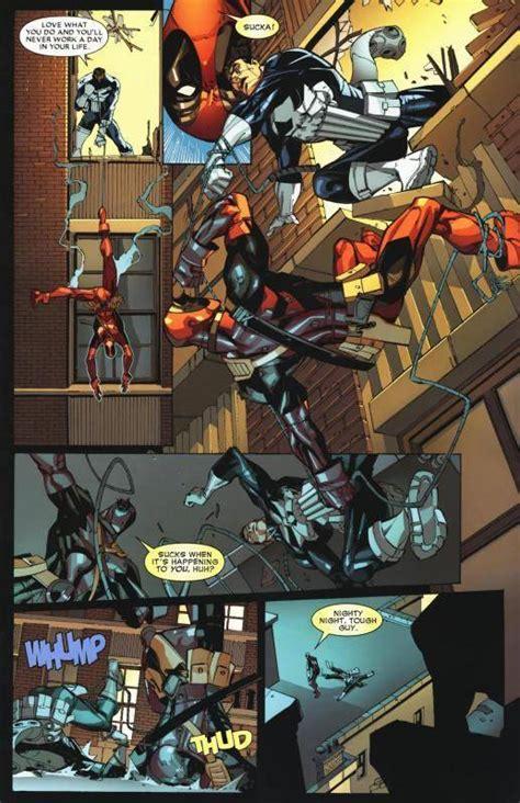 deadpool vs the punisher blade the punisher vs domino deadpool battles