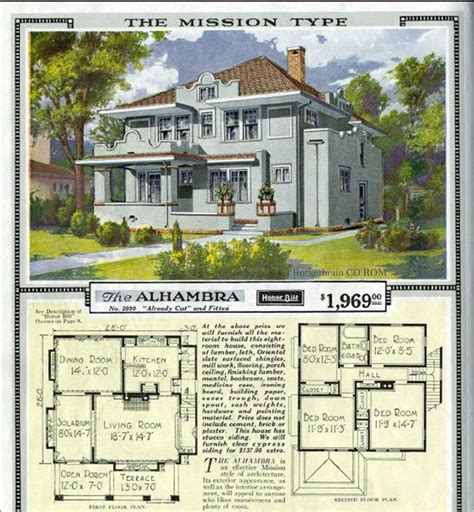 Vintage Craftsman House Plans by Vintage Sears Catalog Craftsman House Plans Traditional