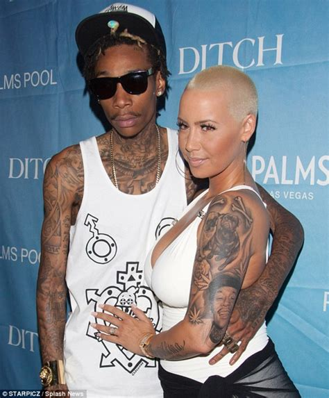 amber rose wiz khalifa tattoo all wiz khalifa tattoos meanings etc