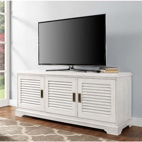 65 inch tv cabinet walker edison angelo louvered door 65 inch tv cabinet