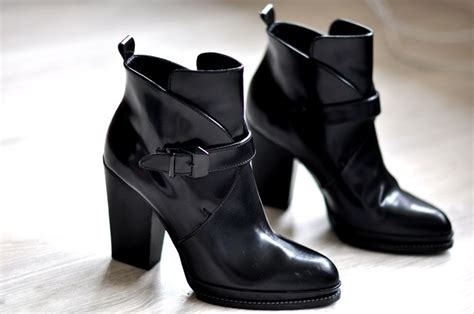 Sandal Zara 3563 zara antik black boots leather point buckle shoes