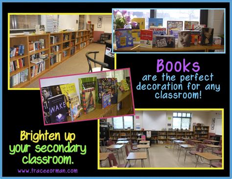 themes for high school english classrooms mrs orman s classroom to decorate or not decorate that