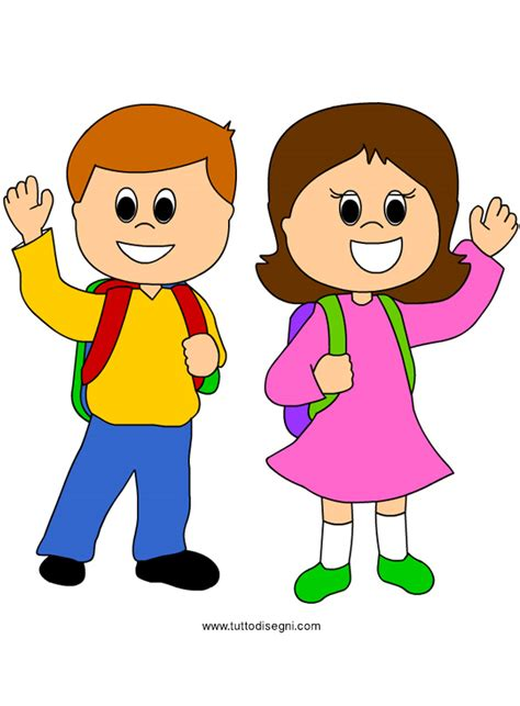 immagini clipart bambini immagine di bambini a scuola tuttodisegni