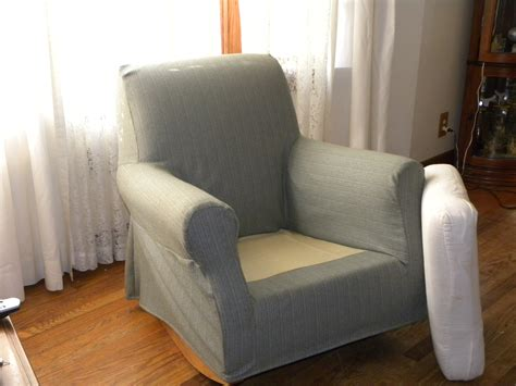 How To Make Slipcovers For Dining Room Chairs Slip Covers For Pottery Barn S Lullaby Rocker And Other
