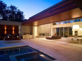 Home Design For U by Modern U Shaped California Home With Central Patio