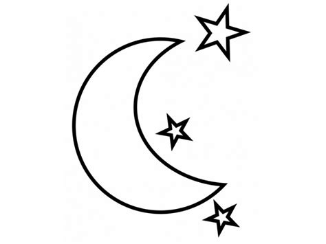 moon and stars coloring pages az coloring pages