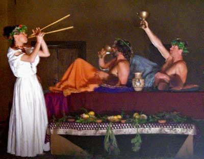 banchetto etrusco banchetti etrusco romani