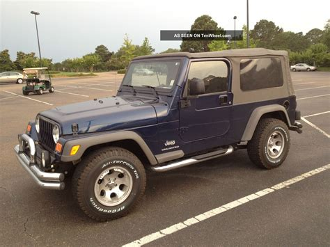jeep wrangler 2 door 2005 jeep wrangler unlimited sport utility 2 door 4 0l