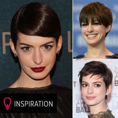 how to style a pixie cut different ways black hair anne hathaway shows you 10 inventive ways to wear a pixie