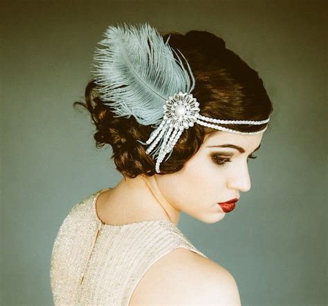 25 flirty flapper hairstyles for the best vintage glam looks the 25 best flapper hairstyles ideas on pinterest