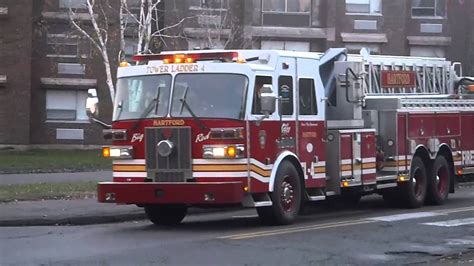 hartford fire department all messed up hartford fire department ladder 4 leaving
