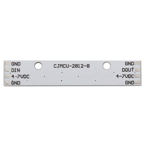 En Neopixel Stick 8 X Ws2812 5050 Rgb Led neopixel stick 8 x led rgb ws2812 drivers integrados electronilab