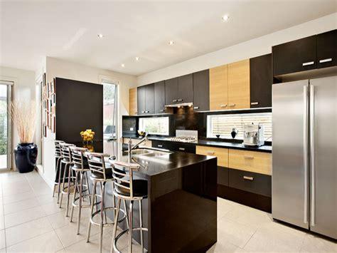 Small Kitchen Islands With Breakfast Bar modern galley kitchen design using tiles kitchen photo