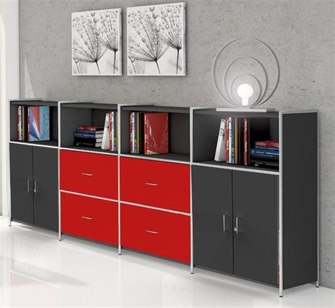 highboard anthrazit artline typ14 highboard 3 oh regal sideboard b 252 roregal