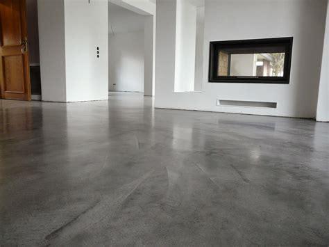 betonspachtel sichtbeton wand wohndesign beton cire