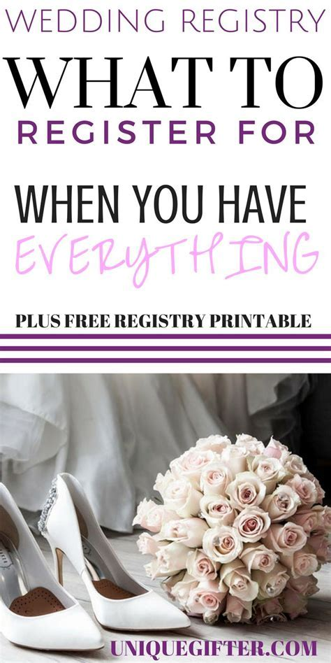 Best 25  Wedding registry checklist ideas on Pinterest