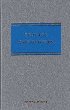 benjamin s sale of goods books wildy sons ltd the world s bookshop search