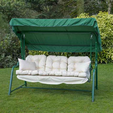 bench swing cushion replacement 3 seat swing cushion replacement home furniture design