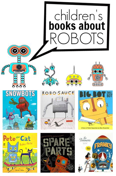 picture book database 9 rad robot books for no time for flash cards