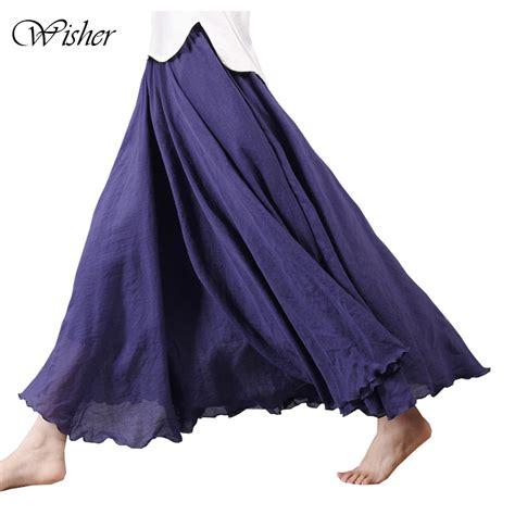 5 Summer Skirt Extravaganza by 2017 Summer Skirt Linen Cotton Vintage Skirts