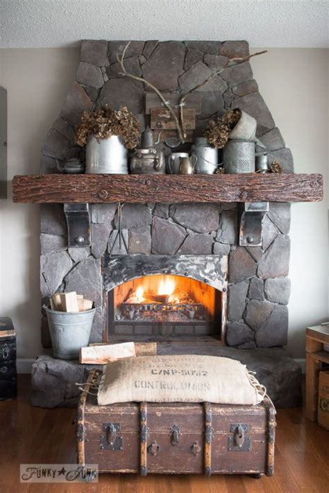 rustic fireplace decor 66 best decor fireplaces and mantels images on