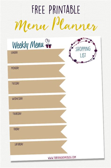 create your own printable planner free 70 healthy freezer meal recipes thriving home
