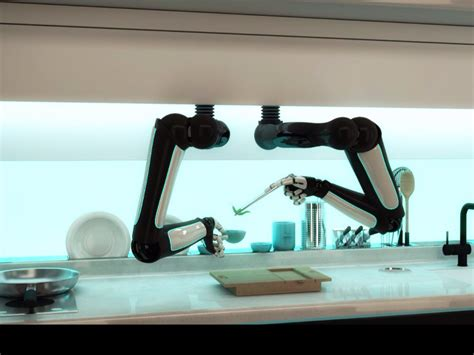 Robot Kitchen by Amazing Stories Around The World Meet The Robot Chef That