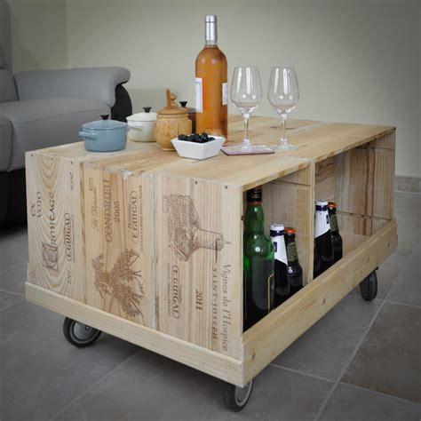 Fabriquer Meuble Caisse Vin by Meubles De Salon En Caisses 224 Vin En Bois Woodcase
