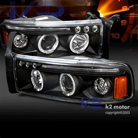 Halo Lights For Trucks by 1994 2001 Dodge Ram Truck Halo Led Projector Headlights