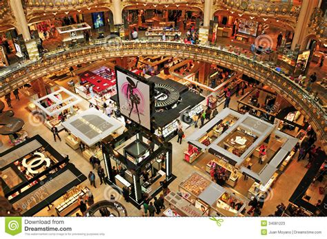 Sale Time At Galeries Lafayette by Galeries Lafayette In Editorial Stock Photo