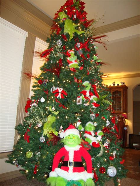 9ft grinch tree christmas pinterest