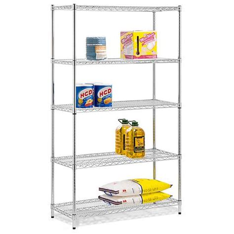 5 tier 42 quot adjustable shelving unit 6520577 hsn