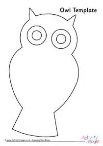 printable owl template for owl template 4
